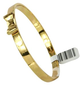 Kate Spade * KATE SPADE New York Take a Bow Bangle Gold Tone Bracelet