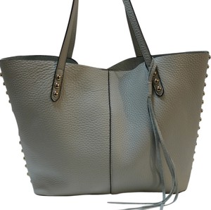 Rebecca Minkoff Leather 846632710852 Nwt Tote in Pale Sage / Light gold