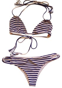 5a8e6dc48ac2 Acacia swimwear Striped Navy Creme Cannons Top and Ulus Bottoms ...