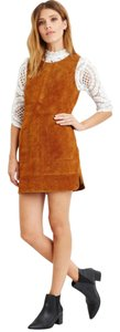 Forever 21 short dress Camel Suede Shift on Tradesy