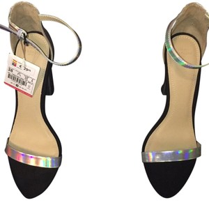 Zara Iridescent Sandals