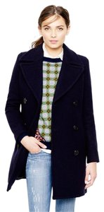 J.Crew Oversized Classic Preppy Navy Pea Coat