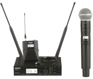 Sure Microphones Shure ULX-D Combo Wireless System, Microphone + ULXD24/SM58-L50 Band