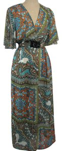 Paisley Maxi Dress by Antthony Design Originals Long