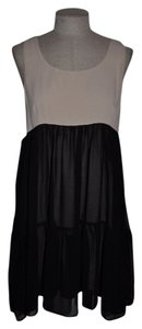 Forever 21 short dress Peony & Black Cut-out Sheer Festival Date Night Minimalist on Tradesy