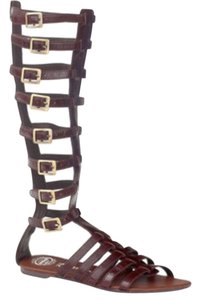 Jeffrey Campbell Dark Chocolate Brown Sandals