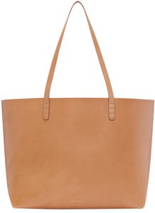 Mansur Gavriel Cammella And Rosa Large Tote in Cammella, Rosa