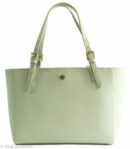 Tory Burch Buckle Tote in Green