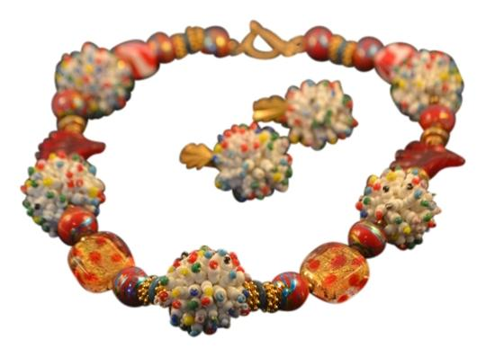 """Other """"Confetti"""" Custom Design Set with Vintage Beads"""