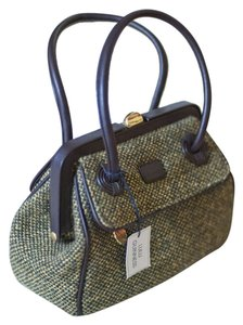 Lulu Guinness Boulce Satchel in Vintage NWT Green