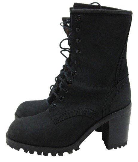 Guess Motorcycle Leather Heel black Boots