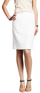 Banana Republic Repbulic Pencil Skirt White