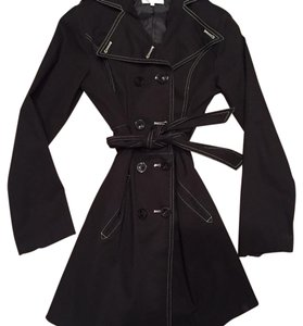 Chic Star trench coat Black Jacket