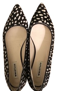 Whistles Black and white Flats