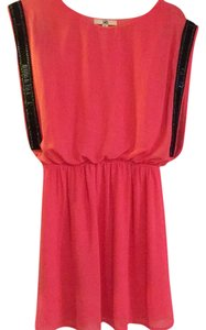 Ya Los Angeles short dress Coral on Tradesy
