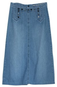 Ralph Lauren Maxi Skirt Denim