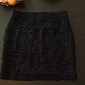 Pins and Needles Skirt Black