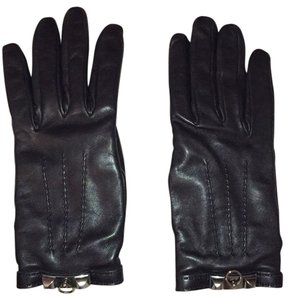 Herms Hermes Kidskin and Lambskin Leather Gloves