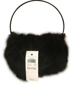 Ann Taylor Furry Earmuffs - Black