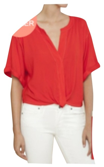 Item - Cherry Red Blouse Size 12 (L)