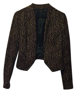 Ark & Co. Black and tan Blazer