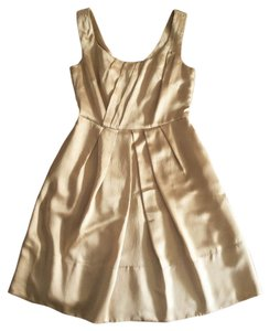 Banana Republic Summer Evening Banana Rep Holiday Gold Silk Holiday Silk Banana Rep Dress
