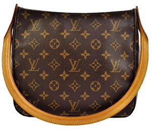 Louis Vuitton Lv Monogram Looping Tote Shoulder Bag