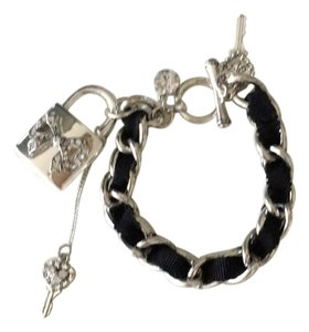 Betsey Johnson Black and Silver Betsey Johnson Bracelet