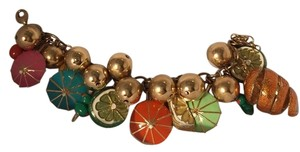 Kate Spade NEW Kate Spade On The Rocks Charm Bracelet NEW RARE Authentic Iconic 12K Gold P Chic