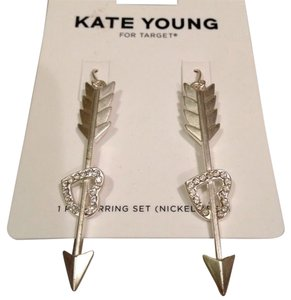 Kate Young for Target Kate Young Heart and Arrow Dangle Earrings