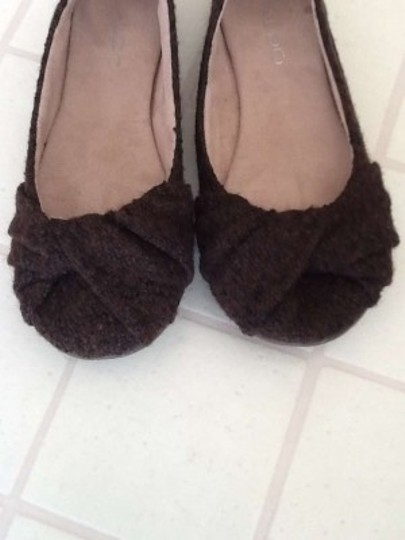 ALDO Dark Brown Flats