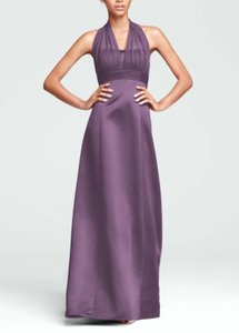 David's Bridal Wisteria Bridesmaid Style 81411 Dress