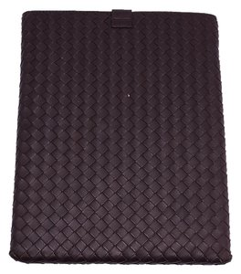 Bottega Veneta Bottega Veneta Brown Intrecciato Leather iPad Case