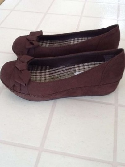 American Eagle Outfitters Brown Platforms