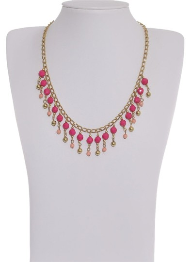 Preload https://item2.tradesy.com/images/pink-and-gold-color-peot-beads-goldtone-necklace-1439801-0-0.jpg?width=440&height=440