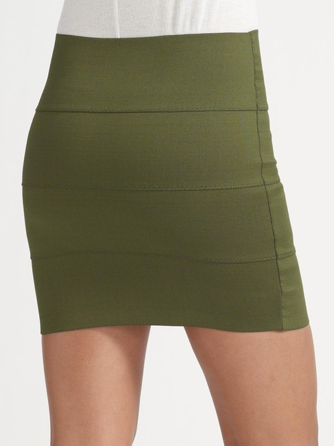 Pleasure Doing Business Mini Bandage Green Pleasure/Business Mini Skirt Olive