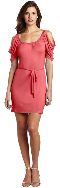 Preload https://item1.tradesy.com/images/wrapper-coral-above-knee-short-casual-dress-size-12-l-1439870-0-0.jpg?width=400&height=650