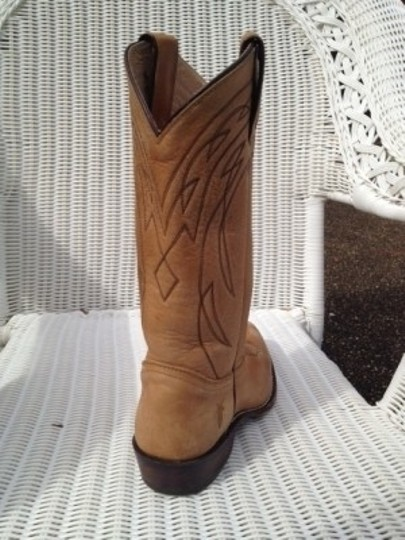 Frye Tan Antique Leather Boots