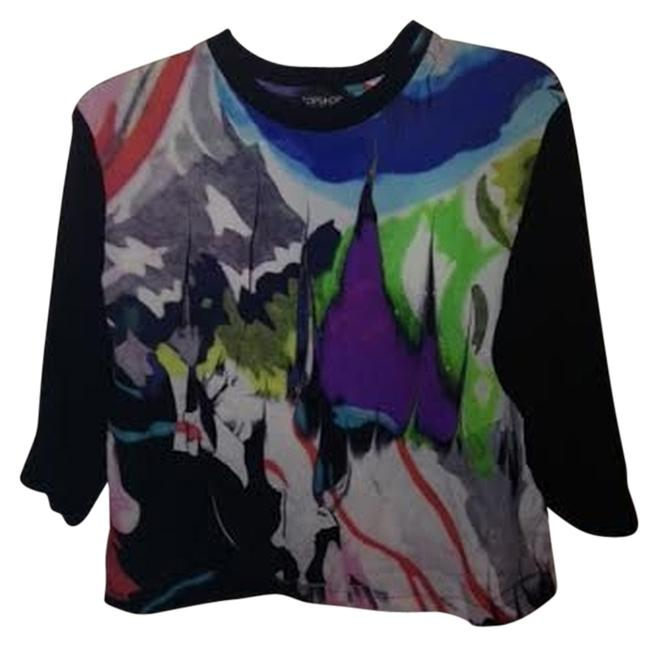 Preload https://item3.tradesy.com/images/topshop-multicolor-graphic-abstract-jersey-34-sleeve-blouse-size-2-xs-1439917-0-0.jpg?width=400&height=650