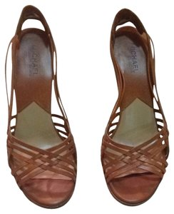 MICHAEL Michael Kors Camel Tan Sandals