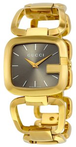 Gucci Gold Stainless Steel Bangle Designer Fashion Designer Watch