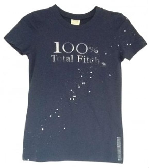 Abercrombie & Fitch T Shirt navy blue