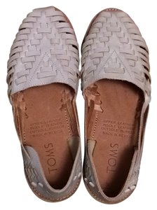 TOMS Leather Off White Sandals