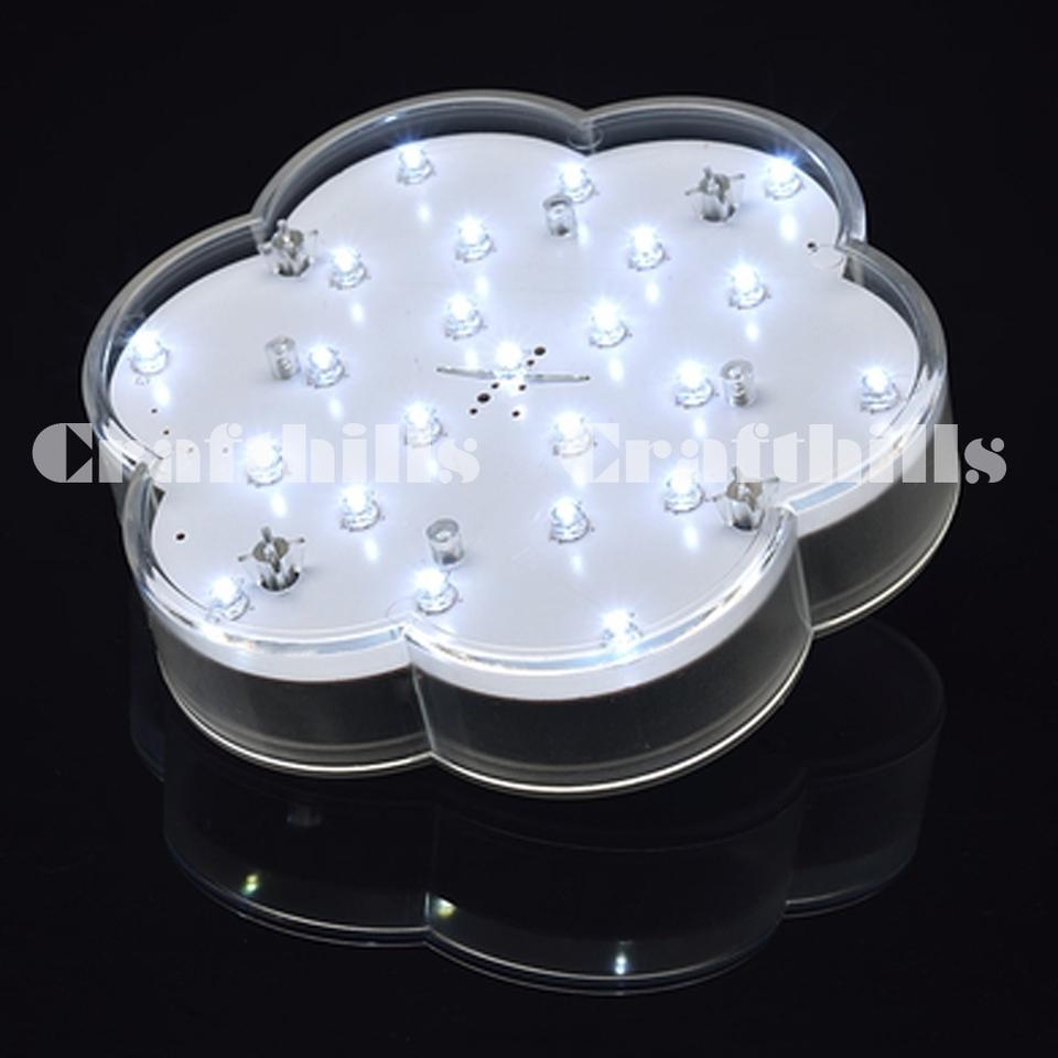 Of quot led large vase base light up floral party wedding