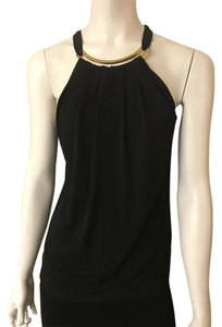 Michael Kors Black Halter Top