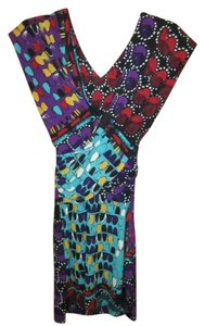 Julie Dillon Tribal Bohemian Abstract Modern Dress