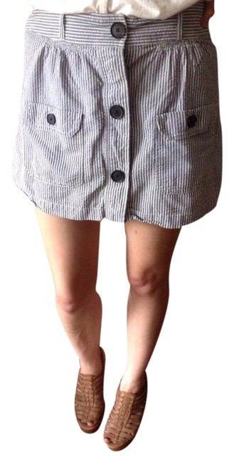 American Eagle Outfitters Skirt Blue And White