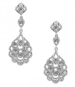 Silver Tone Vintage/Antique-inspired Earrings