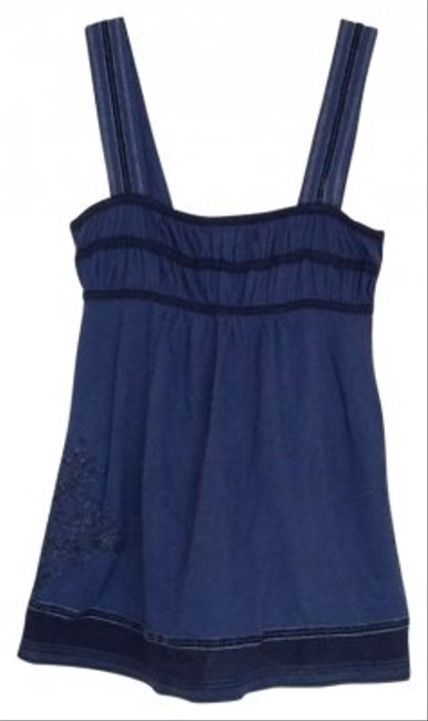 Preload https://item2.tradesy.com/images/abercrombie-and-fitch-navy-blue-tank-topcami-size-0-xs-144016-0-0.jpg?width=400&height=650