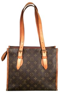 Louis Vuitton Tote Canvas Vintage Shoulder Bag